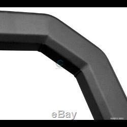Fit 14-19 Toyota Highlander Matte Blk / Skid Avt Gras Bar Bull Bumper Grille Gurad