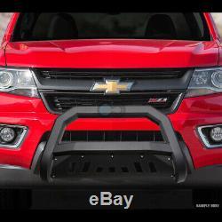 Fit 98-11 Ford Ranger Matte Blk Avt Gras Bull Bar Brosse Poussez Garde Bumper Grille