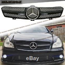 Fit Benz Cls-05-08 W219 Sedan Pare-chocs Avant Clôture Grille- Gloss Black B-sl Rechercher