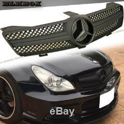 Fit Benz Cls-05-08 W219 Sedan Pare-chocs Avant Clôture Grille- Noir Mat B-sl Rechercher