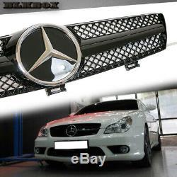 Fit Benz Cls-05-08 W219 Sedan Vent Pare-chocs Avant Grille-gloss Black B-sl Dg1 Rechercher