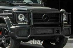 G63 Classe G W463 G-wagon Amg Black Grille Brush Guard G550 G500 Body Kit Avant