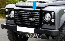 Grille Avant De Style Black Adventure Pour Land Rover Defender Adventura Svx