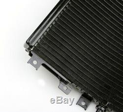 Grille De Radiateur Cooler Guard Pour Kawasaki Zx11 Zzr1100 D1-d9 1992-2002 Blk Uk