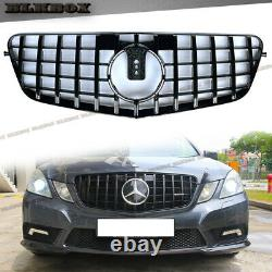 Gt Grille Avant Noir Brillant Complet Pour 2010 2011 2012 2013 Mercedes Benz W212 4dr