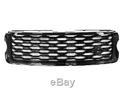 Hawke Calandre De Style My18 Forme Range Rover Vogue L405 2013-2018 Véritable Blk / B