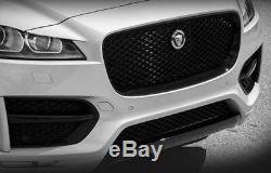 Jaguar F-pace Tous Remplacement Noir Grille Complète Bordure Noire Black Mesh