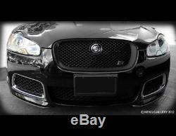 Jaguar Xf Et Xfr Tous Grille De Calandre Noire De Remplacement (modèles 2007-2011)