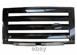 Kit De Calandre Avant Style Svx Noir Brillant Pour Land Rover Defender 90 110 60e Nouveau