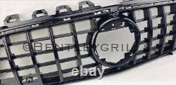 Mercedes Cla C118 Panamericana Gt Grille Gloss Noir Grill