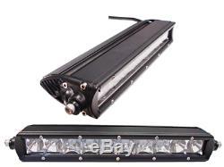 Modquad Grill Avant Avec 10 Light Bar Noir / Aluminium Pour Polaris Rzr Xp 900 1000