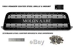 Molon Labe Grille Pour 2007-09 Tundra Aftermarket Steel Grill Noir Avec Ss Rivets