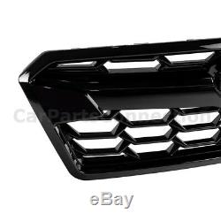 Nouveau Assemblée Upper Grille Avant Pour 2018 2019 Subaru Crosstrek Noir Brillant