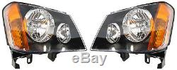 Nouveau Projecteur Feux Pair + Calandre (blk) Pour Holden Colorado Rc 2008 2012