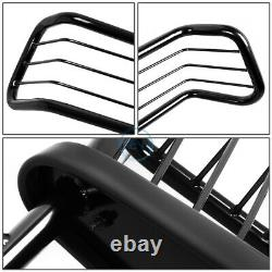 Pour 01-05 Ford Explorer Sport/trac Blk Bumper Grill Protector Grille Brush Guard