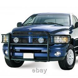 Pour 02-05 Dodge Ram 1500 2500 3500 Blk Bumper Grill Protector Grille Brush Guard