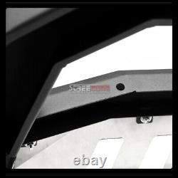 Pour 05-15 Nissan Xterra Suv Matte Blk Avt Bull Bar Grille Guard+ss Skid