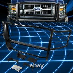 Pour 08-10 Ford F250-550 Superduty Blk Bumper Grill Protecteur Grille Brush Guard