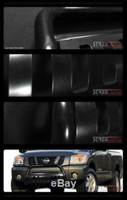 Pour 10-20 Toyota 4runner Blk Acier Bull Bar Grill Brosse Pousser Bumper Guard Grille