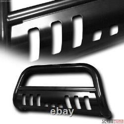 Pour 10-21 Toyota 4runner Blk Steel Bull Bar Brush Push Bumper Grill Grille Garde