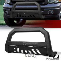 Pour 2002-2009 Dodge Ram Texuture Blk Avt Bord Barre Bull Poussez Garde Bumper Grille
