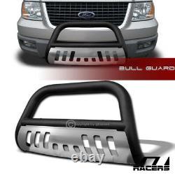 Pour 2003-2017 Ford Expédition Matte Blk Bull Bar Brush Bumper Grille Garde Skid