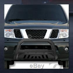 Pour 2004-2015 Nissan Titan / Armada Texturés Blk Avt Bull Bar Garde Bumper Grille
