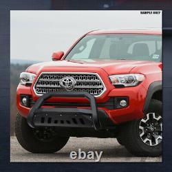 Pour 2008-2012 Nissan Pathfinder Matte Blk Avt Edge Bull Bar Bumper Grille Guard