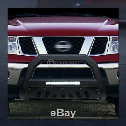 Pour 2010-2018 Dodge Ram 2500 Texturé Blk Avt Aluminium Led Bull Bar Garde Grille
