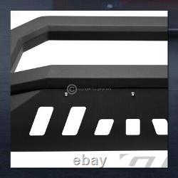 Pour 2014-2019 Toyota Highlander Matte Blk Avt Edge Bull Bar Bumper Grille Garde