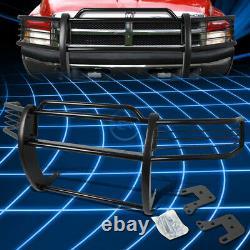 Pour 94-02 Dodge Ram 1500 2500 3500 Blk Bumper Grill Protector Grille Brush Guard