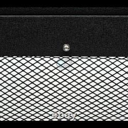 S'adapte 05-15 Toyota Tacoma Texturé Blk Studded Mesh Bull Bar Bumper Grille Guard