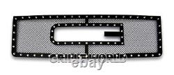 Ss 1.8mm Blk Z Mesh Grille Pour 07-2012 Gmc Sierra 1500/07-2010 Sierra Denali