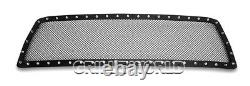 Ss 1.8mm Blk Z Mesh Grille Pour 2010-2013 Toyota Tundra