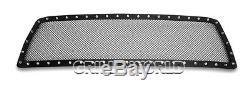 Ss Blk Z Mesh Grille Pour 2010-2013 Toyota Tundra