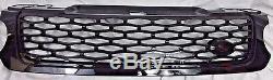 Svr Style Gloss Calandre Noire Mesh Convient 2014-17 Range Rover Sport L494 Nouveau