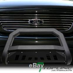 Topline 1997-2004 Ford F150 / F250 Avt Bar Bull Bumper Grille Garde -matte Blk
