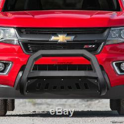 Topline 2015-2019 Chevy Colorado / Canyon Avt Bar Grille Bull Guard -matte Blk