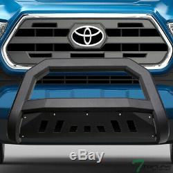Topline 2016-2020 Toyota Tacoma Avt Bar Bull Bumper Grille Garde Matte Blk