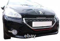 Zunsport Peugeot 208 (12+) Calandre Avant- Noir