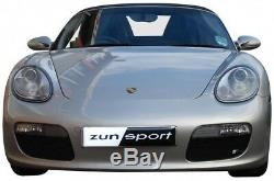 Zunsport Porsche Boxster 987,1 (04-08) Grille Extérieure Set- Noir
