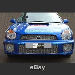 Zunsport Subaru Impreza Bug Eye (01-03) Grille Complète Set- Noir